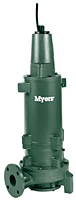 Myers® WG(X)75HH/100H/150H 7 1/2, 10, and 15 HP High Head Submersible Grinder Pumps