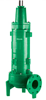 Myers® 4RH and 4RHX Series 4 in Non-Clog Wastewater Pumps