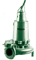 Myers® 8VL and 8VLX Series 8 in Submersible Non-Clog Wastewater Pumps
