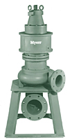 Myers® 6VCDP and 6VCXDP Series 6 in Non-Clog Wastewater Pumps