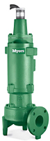 Myers® 3RH and 3RHX 3 in. Non-Clog Wastewater Pumps