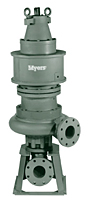 Myers® 4VEDP and 4VEXDP Series 4 in High Head Non-Clog Wastewater Pumps