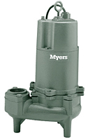Myers® WHR and WHR-DS 2 in. Solids Handling Sewage Pumps