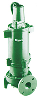 Myers® WG30H-75H and WGX30H-75H 3-7 1/2 HP High Head Submersible Grinder Pumps