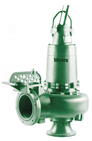 Myers® 12VL and 12VLX Series 12 in Submersible Non-Clog Wastewater Pumps