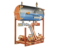 280 Series One & Two Stage Turbines/Multi-Stage Vertical In-Line Boiler Feed Pumps-2