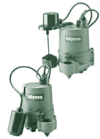 Myers® SSM33I Cast Iron Submersible Sumps and Effluent Pumps