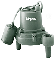 Myers® S40HT Series Submersible Sump Pumps