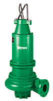 Myers® 4VE and 4VEX Series 4 in. High Head Non-clog Wastewater Pumps