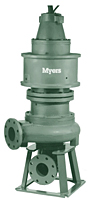 Myers® 4VLDP and 4VLXDP Series 4 in High Head Non-Clog Wastewater Pumps