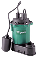 Myers® S33 Series Submersible Sump Pumps