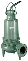 Myers® 8SM and 8SMX Series 8 in Submersible Non-Clog Wastewater Pumps
