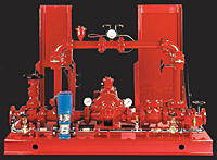 Packaged Fire Pump System
